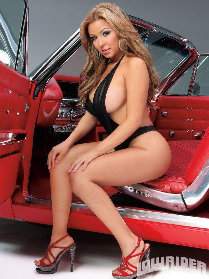 Naked latina in the car — img 11