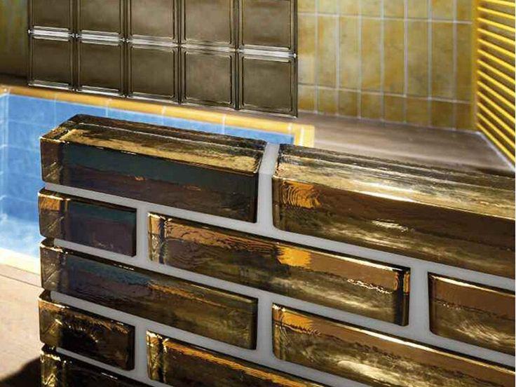 Mattone in vetro VetroPieno - SEVES Divisione glassblock