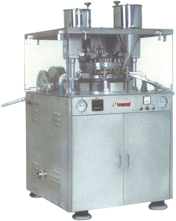 Legend best pharma machine, Bina Press Double Rotary Tablet Compression machine with maximum output & turret speed is available.