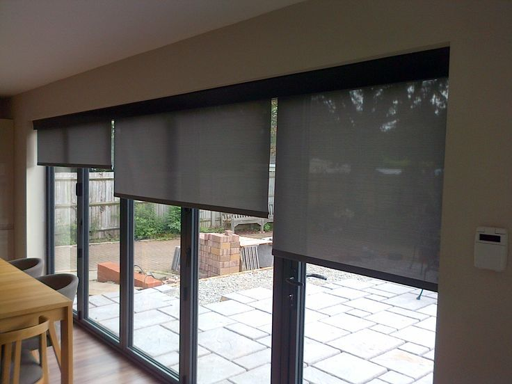 95 best images about doors and windows on pinterest for Motorized shades for french doors