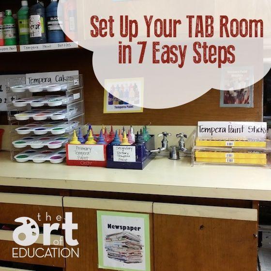 Set Up TAB Room