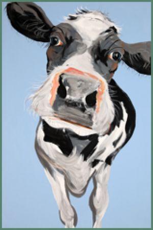 Caroline Walker Cow print