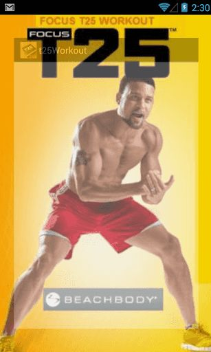 T25 Workout programme is an application that contains the information of the very popular workout called T25. It compose of Alpha Beta and Gamma Phase.<br>T25 Workout programme make you understand what is T25 workout and what are each phase of T25 workout and give you the result of the one who complete T25 for several months.<p>You can follow the information in T25 Workout programme to apply with your lifestyle.<br>There is and T25 Nutrient guide in T25 Workout programme that make your food…