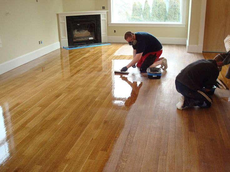 Coating A Stained Rift U0026 Quartered White Oak Hardwood Floor. Seattle, WA. Wood  Floor CleaningRug ...