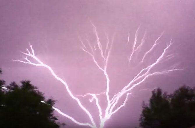 What Causes Upside-Down Lightning? Electricity can travel from ground-to-cloud, too -- and the effects can be damaging. Continue reading →