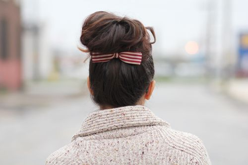 bow at the back