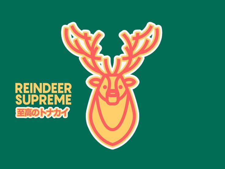 Reindeer Supreme by Andrei Nicolescu