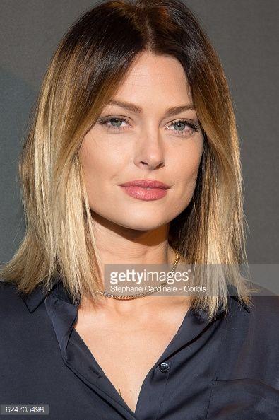 Caroline Receveur attends the 'Allied - Allies'- Paris Premiere at Cinema UGC Normandie on November 20, 2016 in Paris, France.