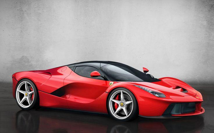 2015-Ferrari-Ferrari LaFerrari-Side-View-Wallpaper