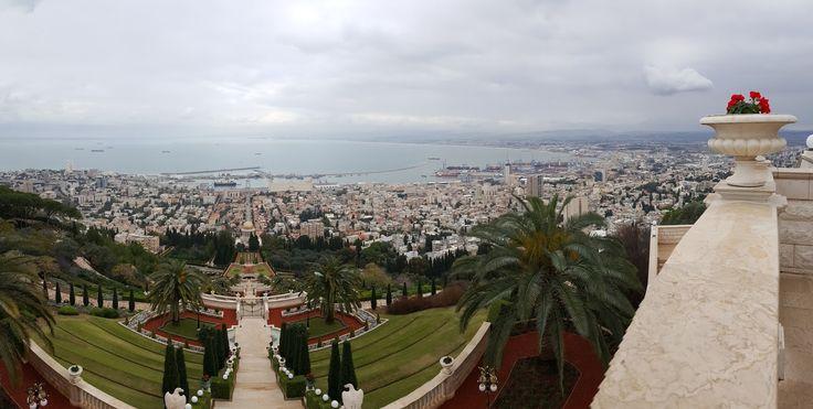 Visuté zahrady Bahá´í (Haifa)