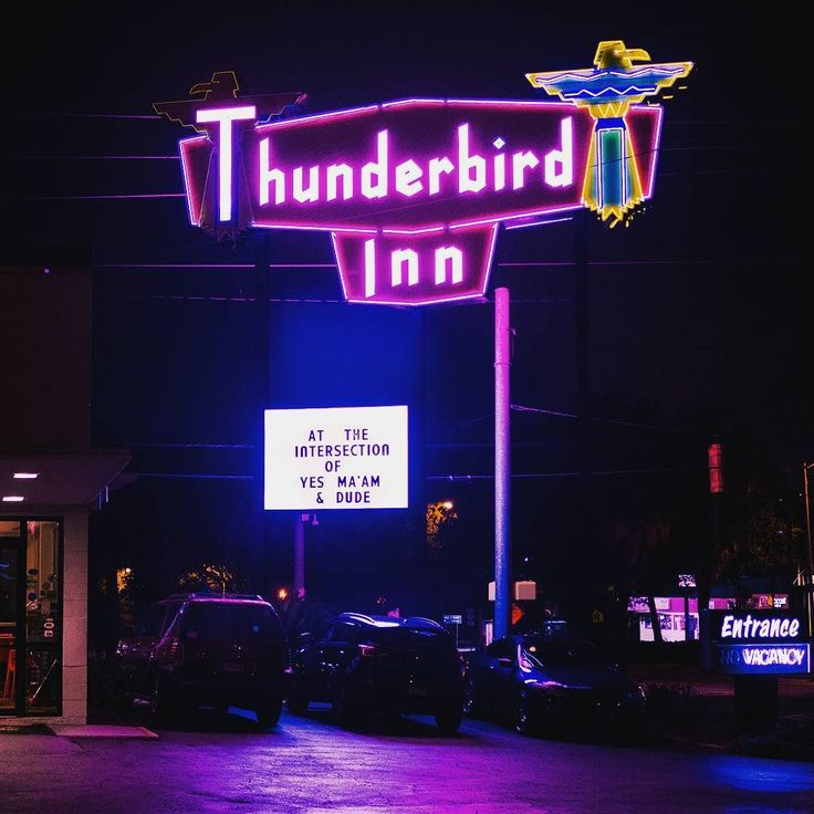 If you're ever in Savannah check out Thunderbird Inn for a cool motel experience while being close to all the cool places