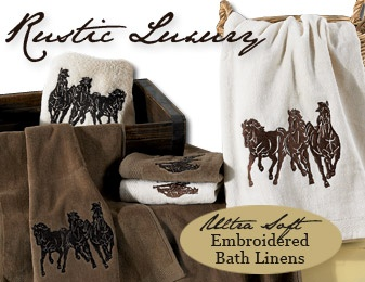 Shop Rustic Bath Linens