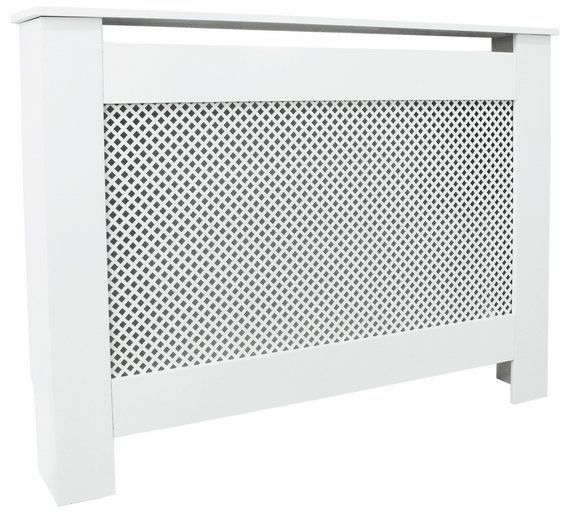 Buy HOME Odell Small Radiator Cover - White at Argos.co.uk - Your Online Shop for Radiator covers, Home furnishings, Home and garden.