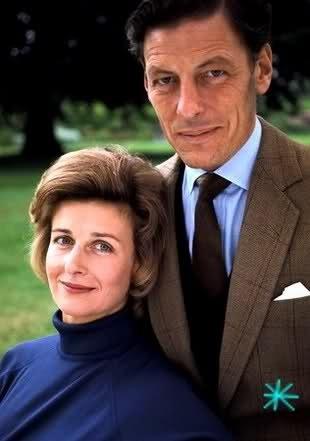 Sir Angus Ogilvy and Princess Alexandra of Kent