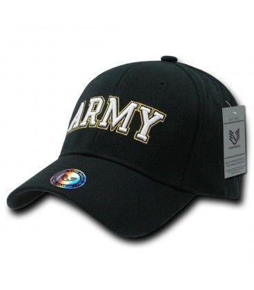 Army Flex Cap Black