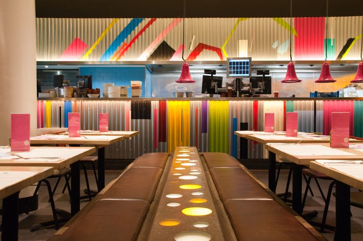 Just come over and they will make sure you are seated. Wahaca