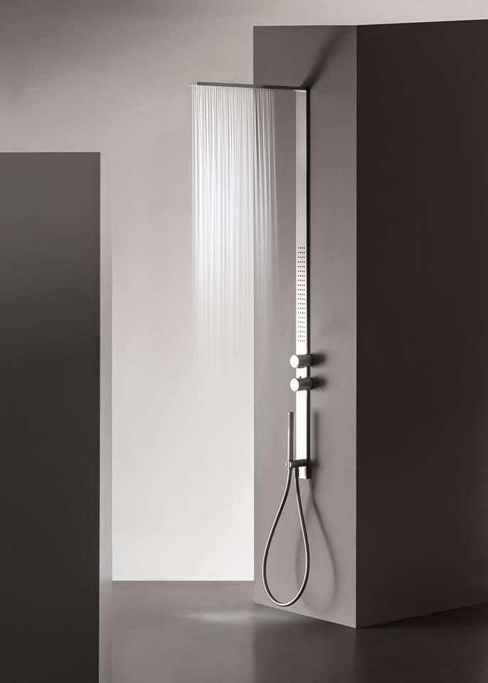 MilanoSlim - design: Franco Sargiani   #bathroom #bagno #design #interiordesign #homeideas #ideas #doccia #shower #milanoslim