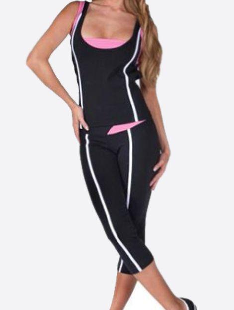 Super Black Yoga Set Manufacturer & Wholesaler In USA & UK