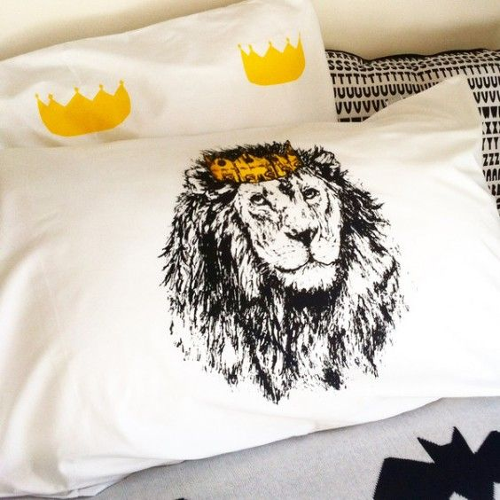 Burrow & Be - Collab Little King Pillowcase