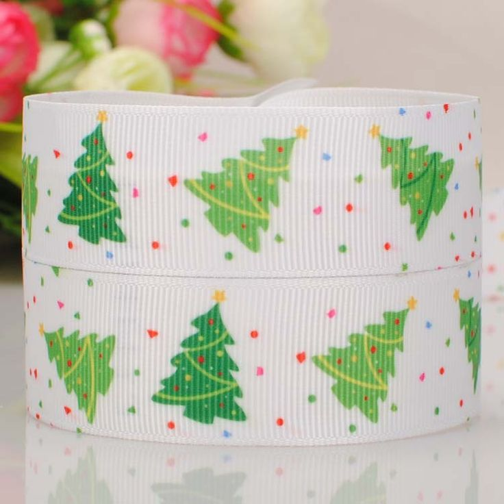 "20Y 7/8""22mm 2015new lovely Christmas  ribbon cartoon  printed grosgrain ribbon  DIY ployester ribbon"
