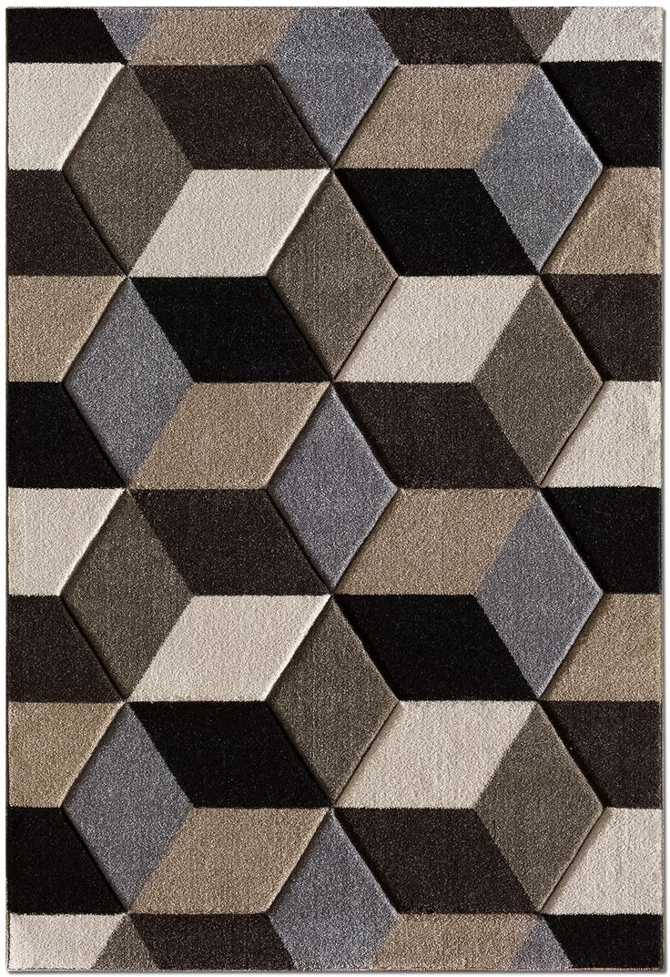 Bring A Bold Modern Vibe Into Any Room With This Pinnacle Area Rug Diamond