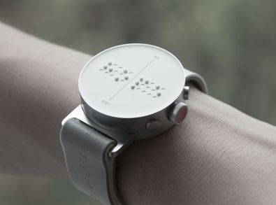A braille smartwatch will finally hit shelves