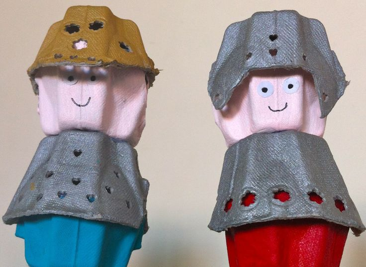egg carton knights