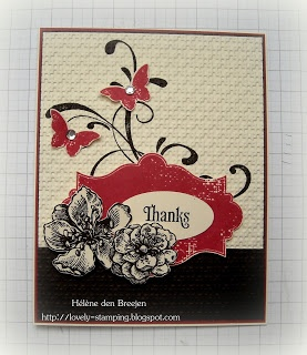 Lovely Stamping - Stampin'Up - Everything Eleanor