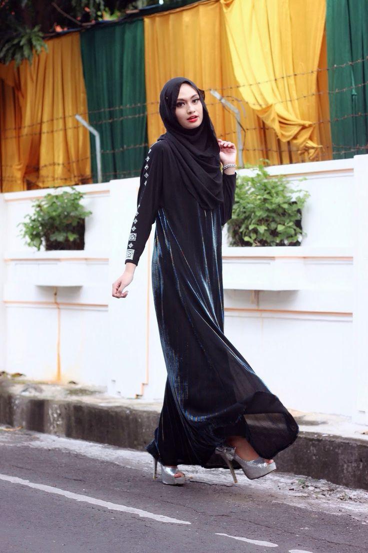 25 Gambarnya Tutorial Hijab Pesta Risty Tagor Terlengkap