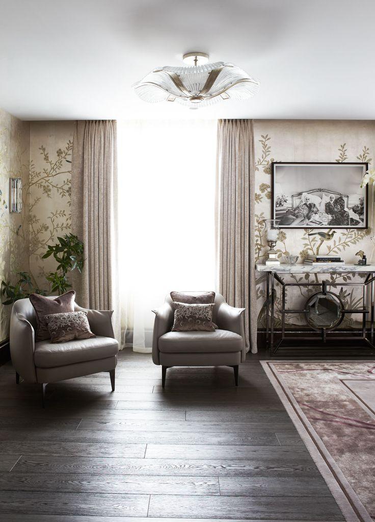 Knightsbridge Residence in London 18 Luxury Penthouse Design in London Infused with Impressive Dark Hues