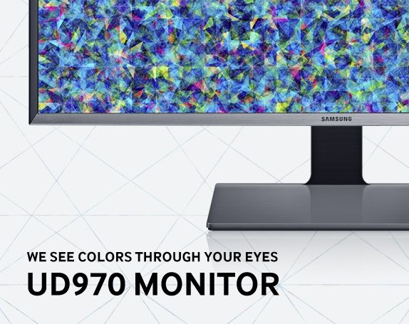 UD970 Monitor Design Story - Two digital experts were given the opportunity to challenge the limits of a color monitor using the UD970.