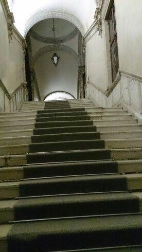 EMBA aims to increase leadership capability. Stairs in Venice #Ambaglobal #jyuEMBA