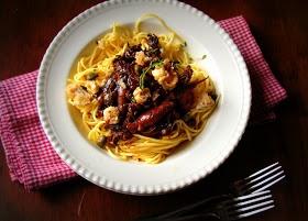 SKIP TO MALOU: Breathe | Squid Adobo Balsamico Pasta