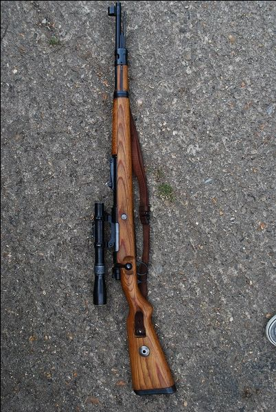 Deactivated K98 Mauser Sniper Rifle Save those thumbs & bucks w/ free shipping on this magloader I purchased mine http://www.amazon.com/shops/raeind   No more leaving the last round out because it is too hard to get in. And you will load them faster and easier, to maximize your shooting enjoyment.