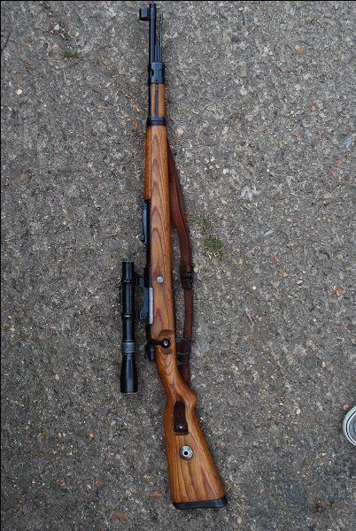 Deactivated K98 Mauser Sniper Rifle