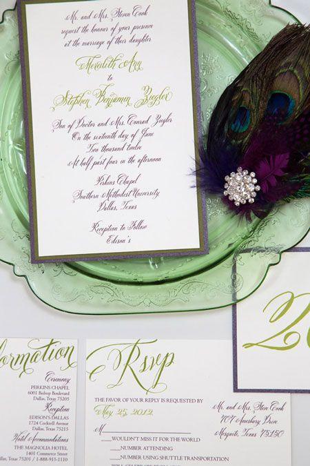 Invitation Suite  http://www.simplypersonal.com/k-scott-weddings