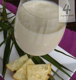 Pina Colada Shake | 4 Ingredients