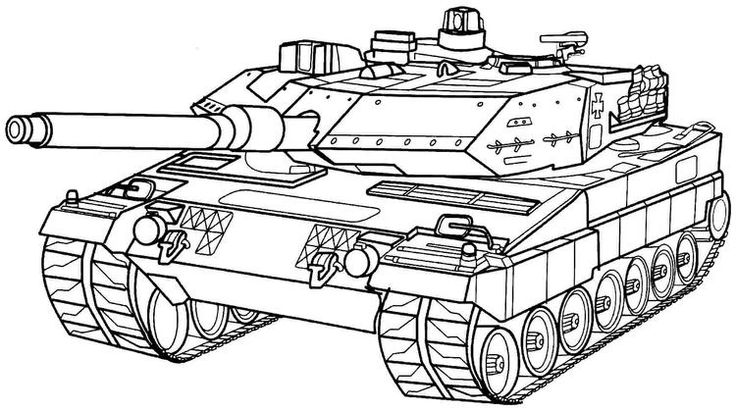 Army Coloring Pages Military Tank Army colors, Coloring
