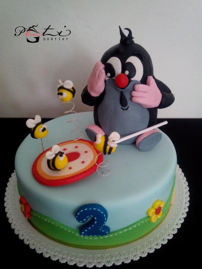 Mole and lollipop / Krteček a lízátko - Cake by PetiCakes / Peti dortíky