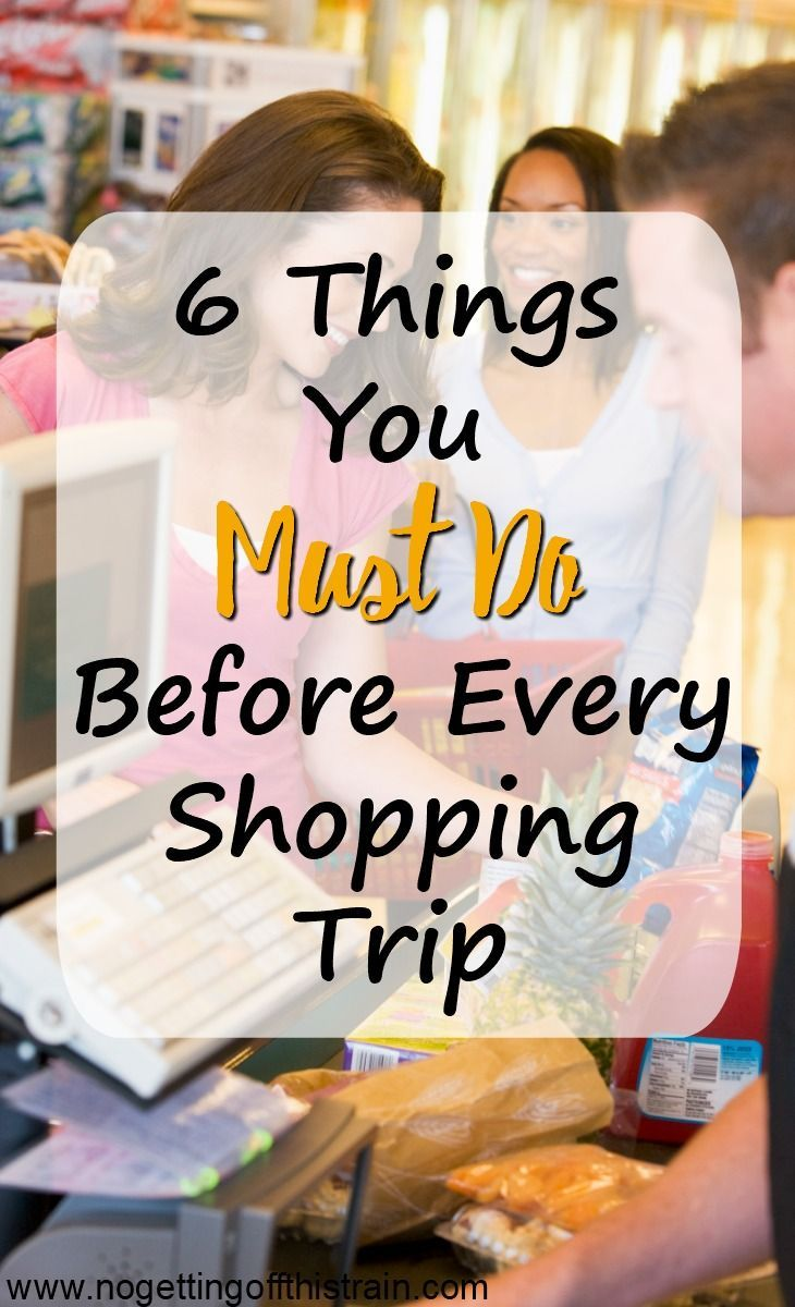 Do you find yourself forgetting things when grocery shopping? Make a plan! Here are 6 things to do before every shopping trip to help you save money on groceries!
