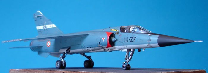 Special Hobby 1/72 scale Mirage F.1C by Eric Duval