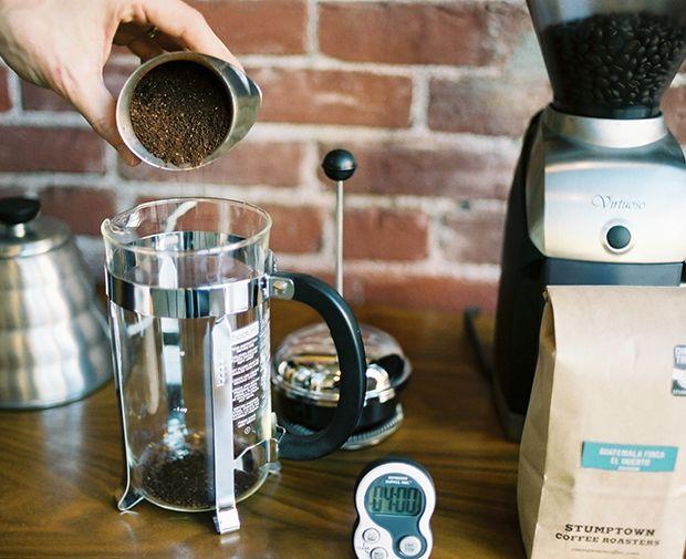 Stumptown Coffee Roasters | French Press / Press Pot Brew Guide