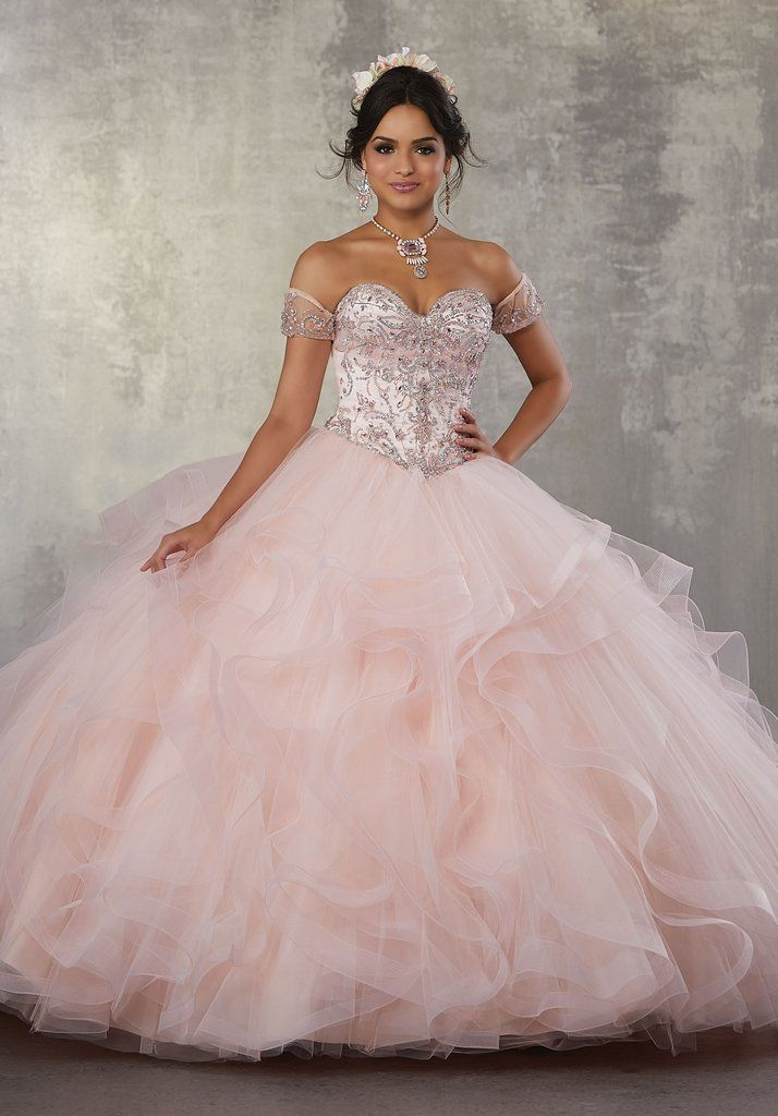 2c817814069 Jeweled Strapless Quinceanera Dress by Mori Lee Vizcaya 89176-Mori Lee  Vizcaya-ABC Fashion