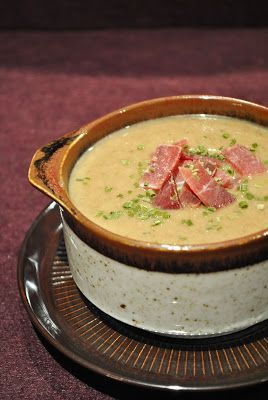 Cremige Pilz-Kartoffel-Suppe