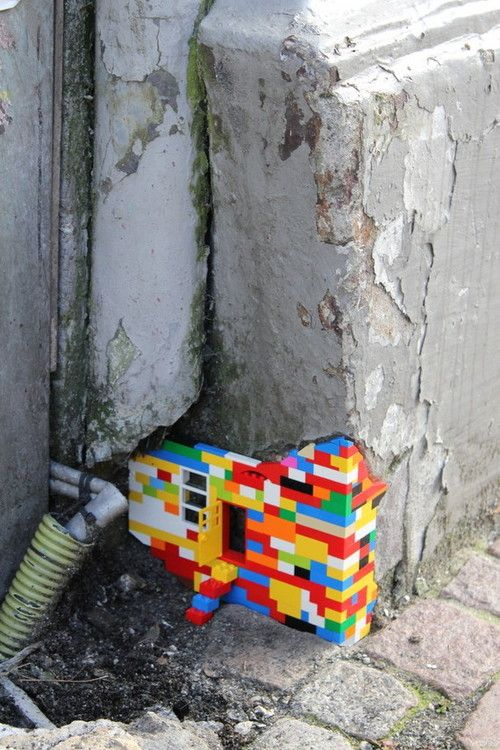 Lego Mouse Hole.