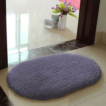 Anti-slip Hairy Soft Memory Foam Bath Bathroom Bedroom Room Floor Mat Rug White Red Coffee