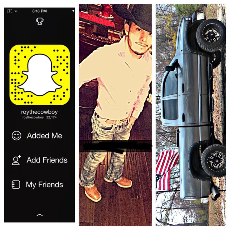 This is my snapchat to any of my fellow piners that's like to chat sometime, don't be shy! That's my truck as well. A lil about me and get to know more about me personally. Snapchat: Roythecowboy