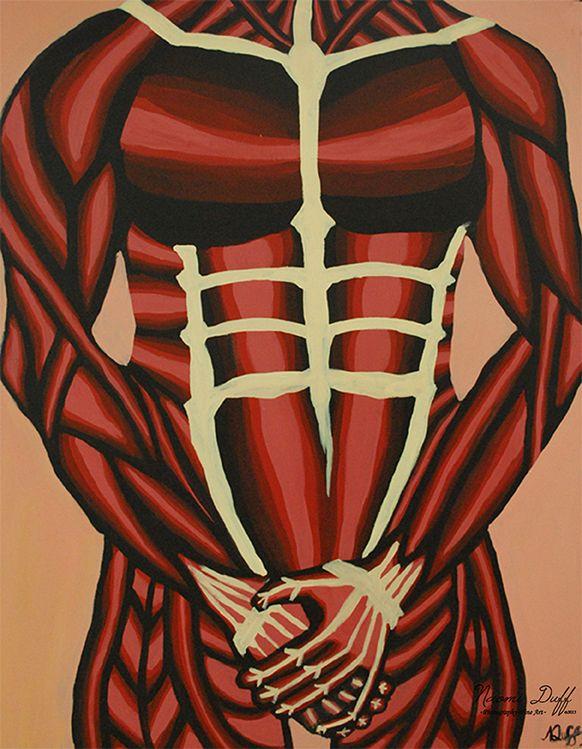 Painting: 3 of 8 Body Language Series