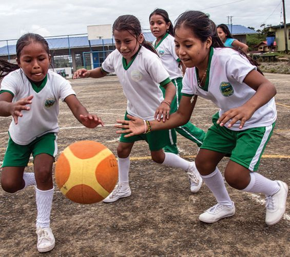 Bring joy around you and to the child that need it the most. Buy a sports pack with soccer ball, basketball, volleyball and skipping ropes. Because play is essential for every child. #Survival Gift