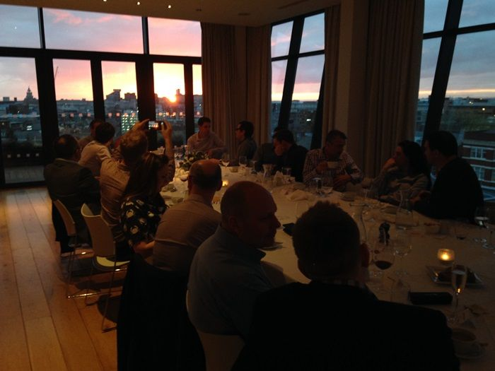 Wine and dine with Mando friends | We're very lucky here at Mando Group that in the last seventeen years we have met alot of wonderful clients and friends who have become truly brilliant advocates for us...